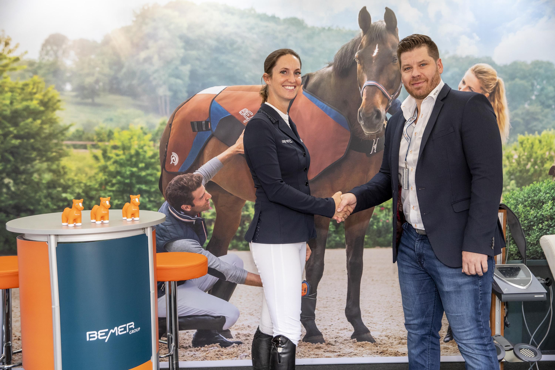 BEMER Int. AG und Simone Blum - Partnerschaft ausgebaut