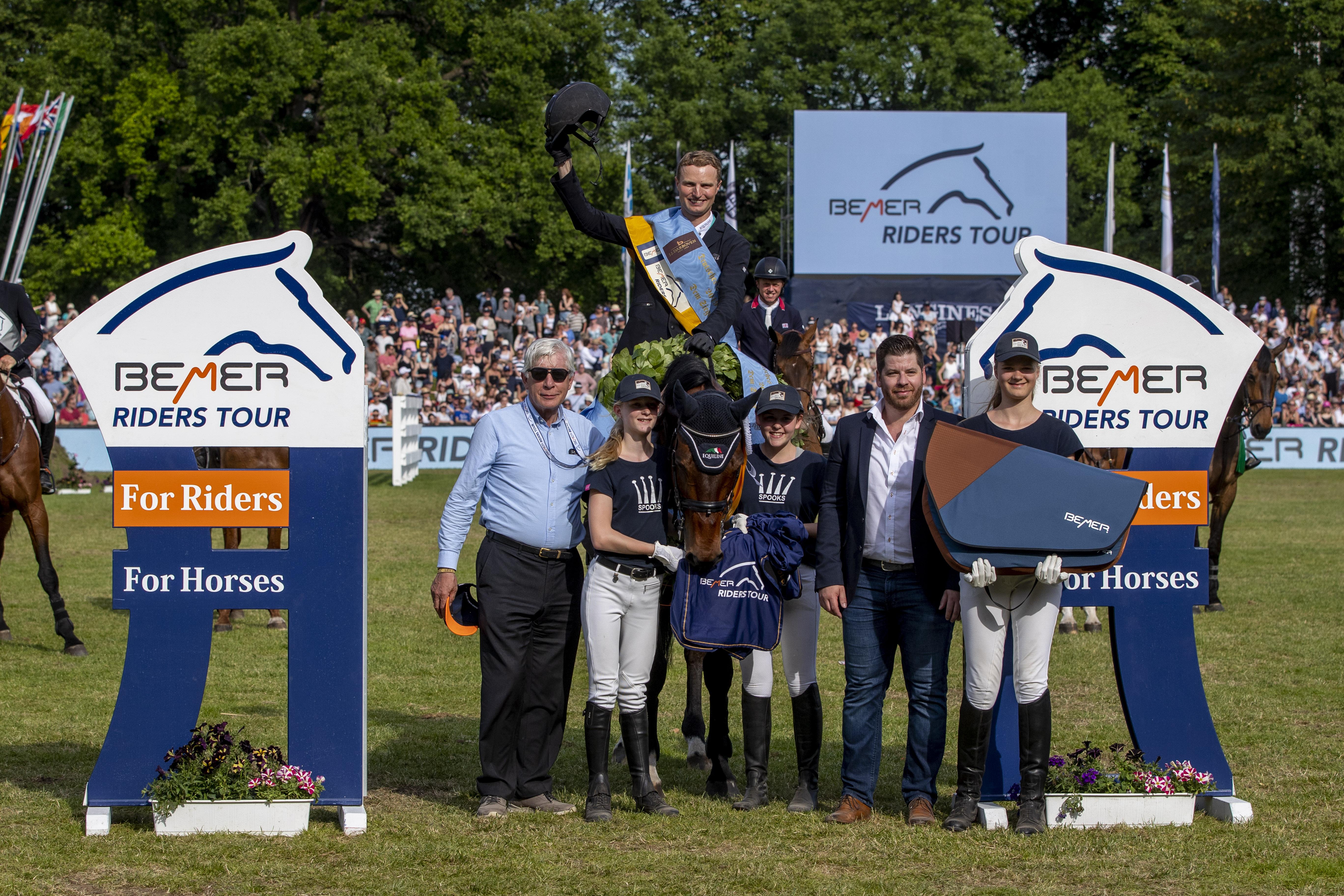 Lüneburg gewinnt spektakuläre Etappe der BEMER Riders Tour