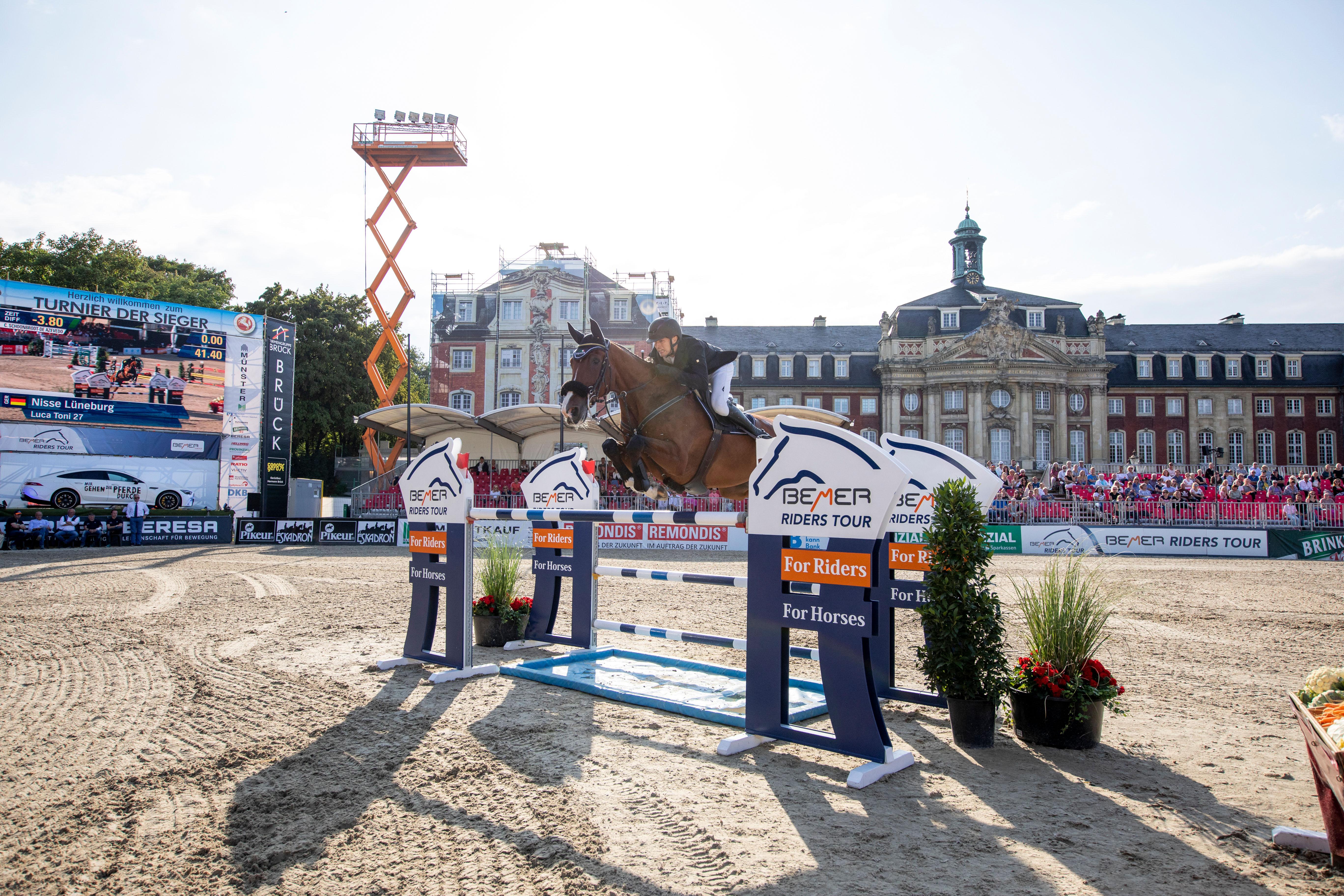 Rankingspitze gewinnt Qualifikation zur BEMER Riders Tour in Münster