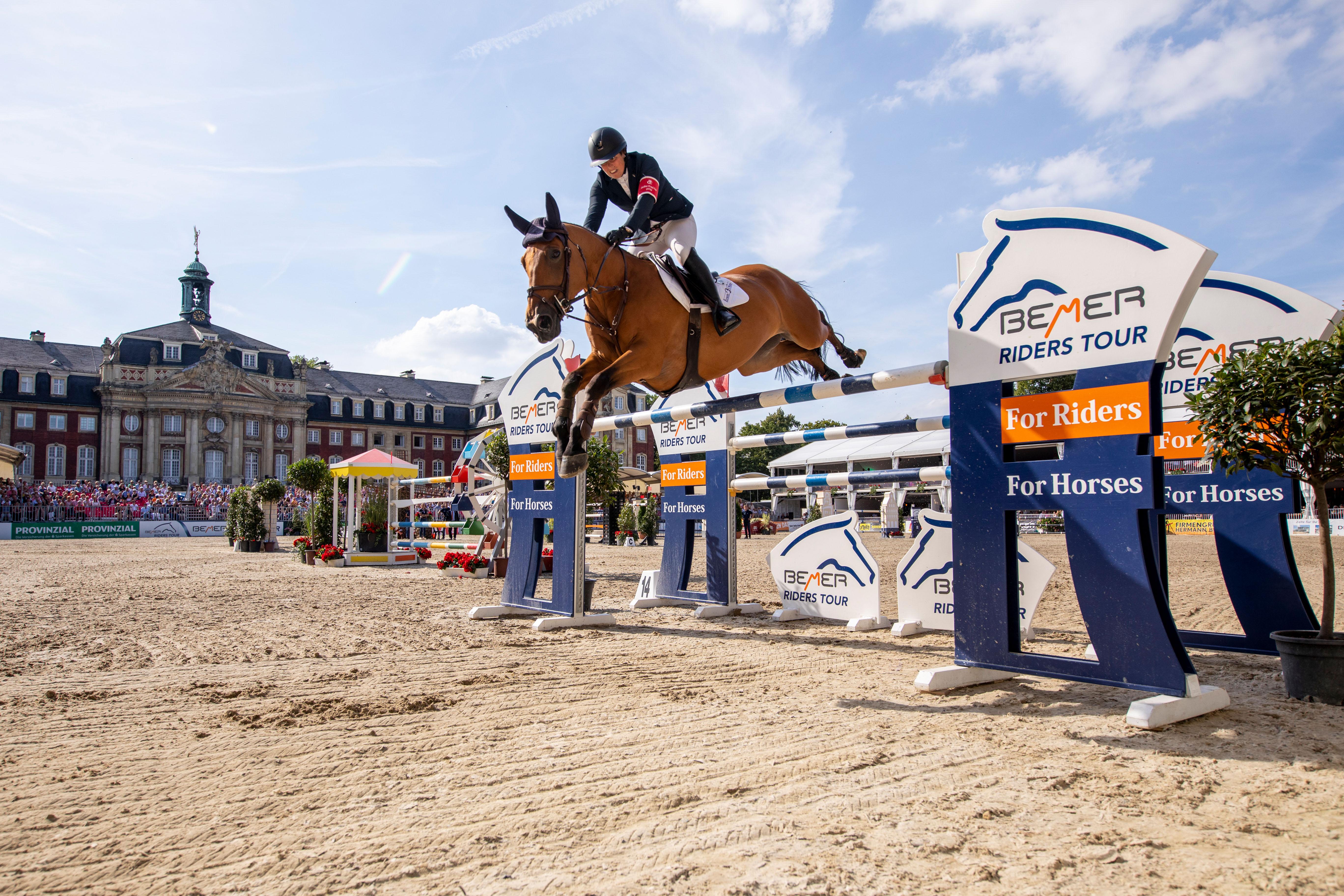 Starke Amazonen - Bettendorf gewinnt BEMER Riders Tour-Etappe in Münster